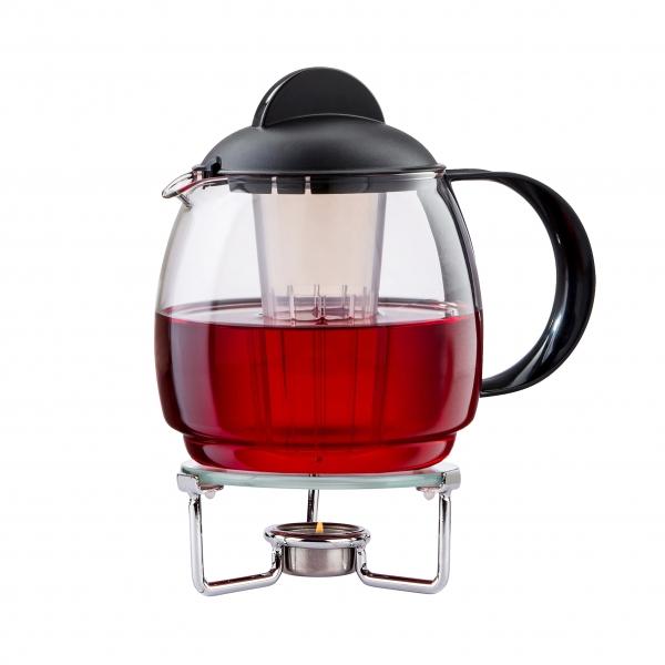 Teekanne Mit Stövchen Clear 18 L Teekanne Aus Glas Mit Siebeins