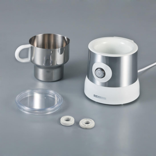 stainless steel milk frother with induction technology. Black Bedroom Furniture Sets. Home Design Ideas