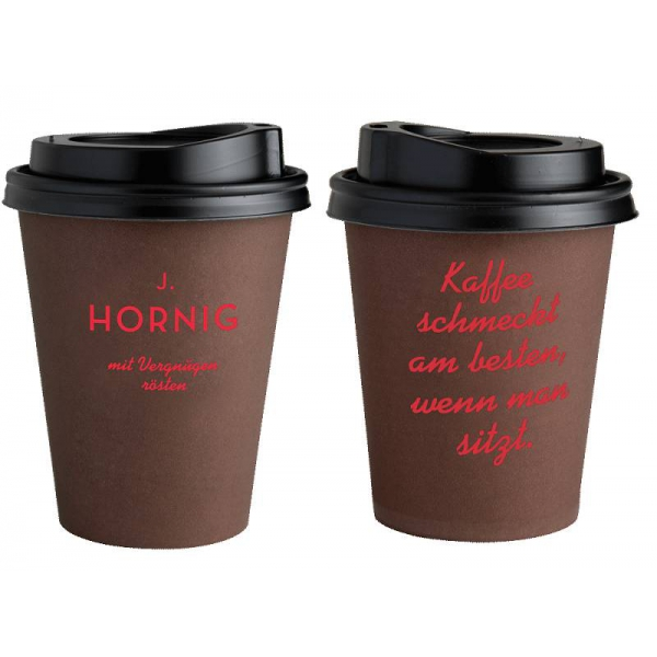 50 coffee to go cups by j hornig brown various sizes 4 99. Black Bedroom Furniture Sets. Home Design Ideas