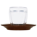 Double-walled espresso cup made of borosilicate glass...