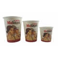 50 coffee to go cups by Caffè Molinari, various sizes