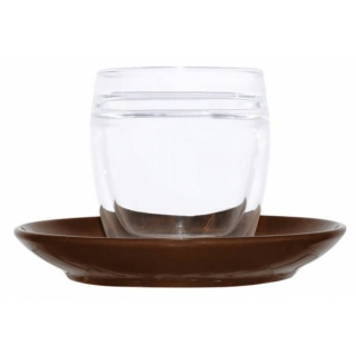 doppelwandige kaffee cappuccinotasse aus borosilikat glas inkl unt. Black Bedroom Furniture Sets. Home Design Ideas