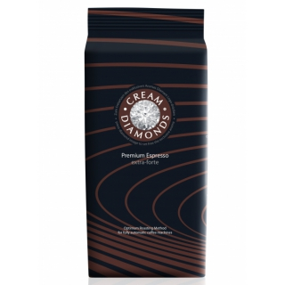 Cream Diamonds extra-forte Espresso-Café ganze Bohne, 1000 g